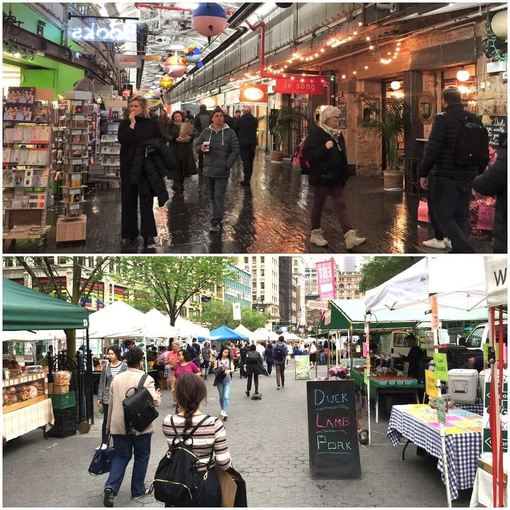 Chelsea Market vs Union Sq Green Market