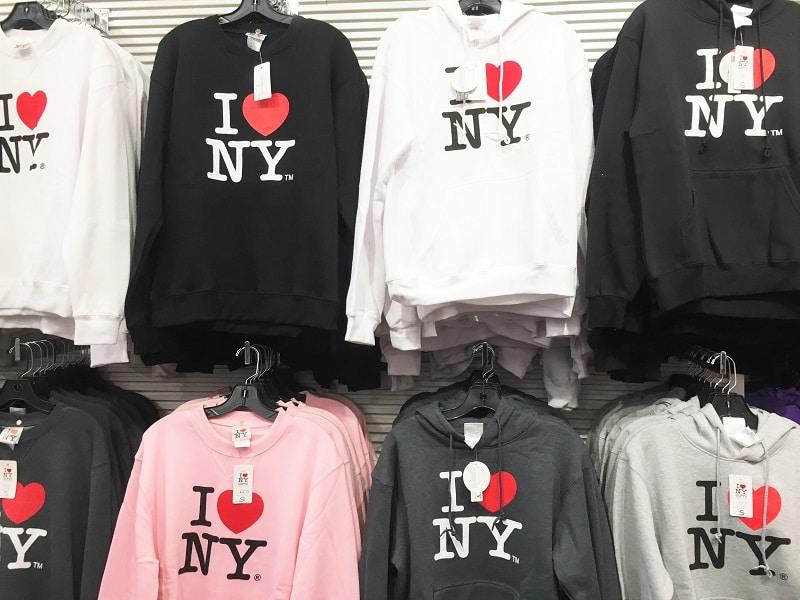 Turista en Nueva York - Sudaderas I love NY