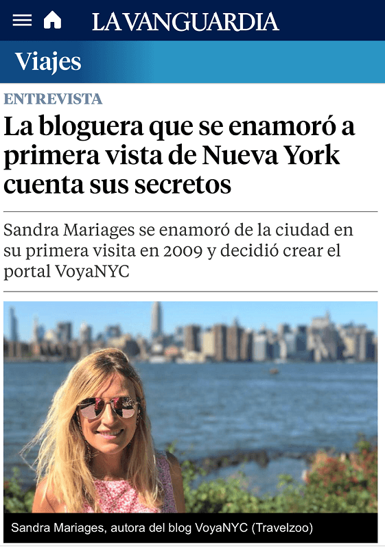Blog Voy a NYC
