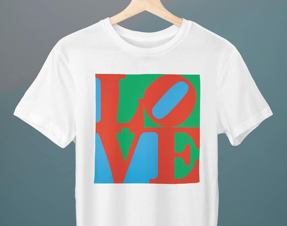 Camiseta Love Robert Indiana