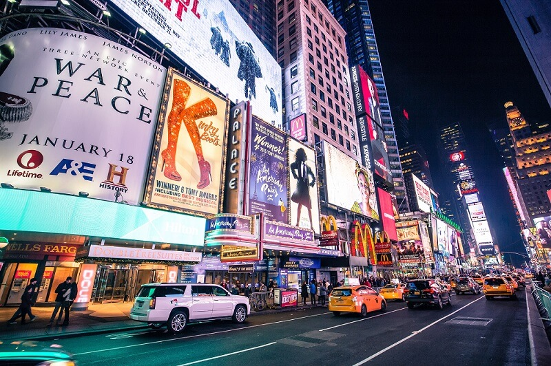 Times Square de Noche