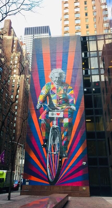 Einstein Nueva York