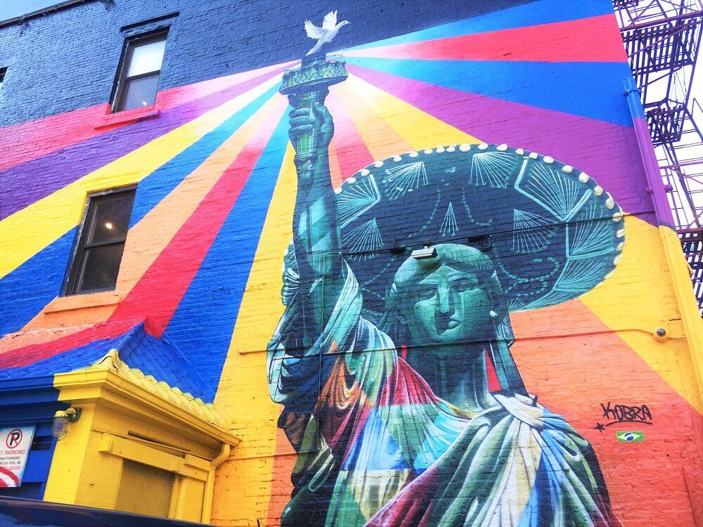 Graffitis en Nueva York