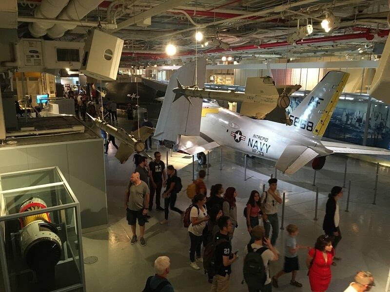 Museo Aviones Nueva York