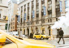 Vapor en las Alcantarillas de Nueva York