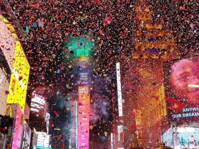 Pide un deseo en Times Square la noche de Fin de Año