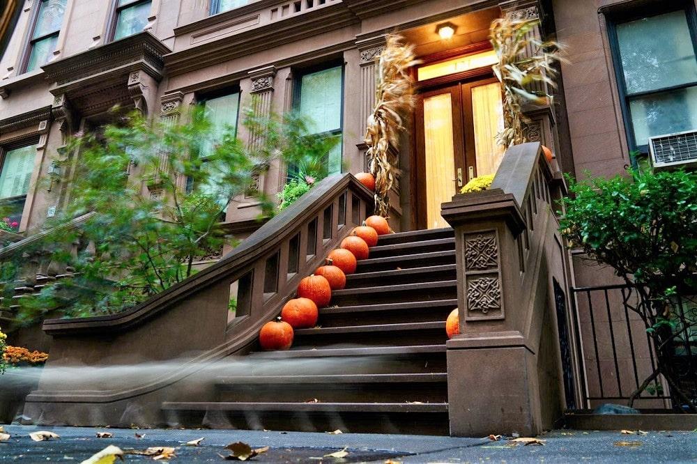 Calabazas de Halloween en Nueva York