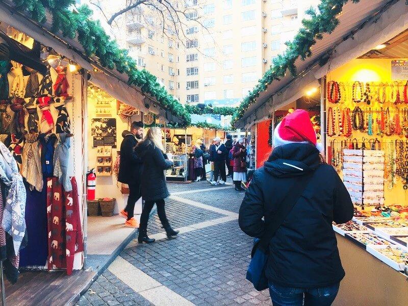 Mercadillos de Navidad en NYC