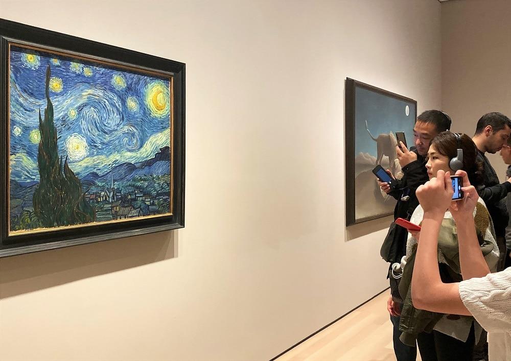 Noche Estrellada Van Gogh - MoMA