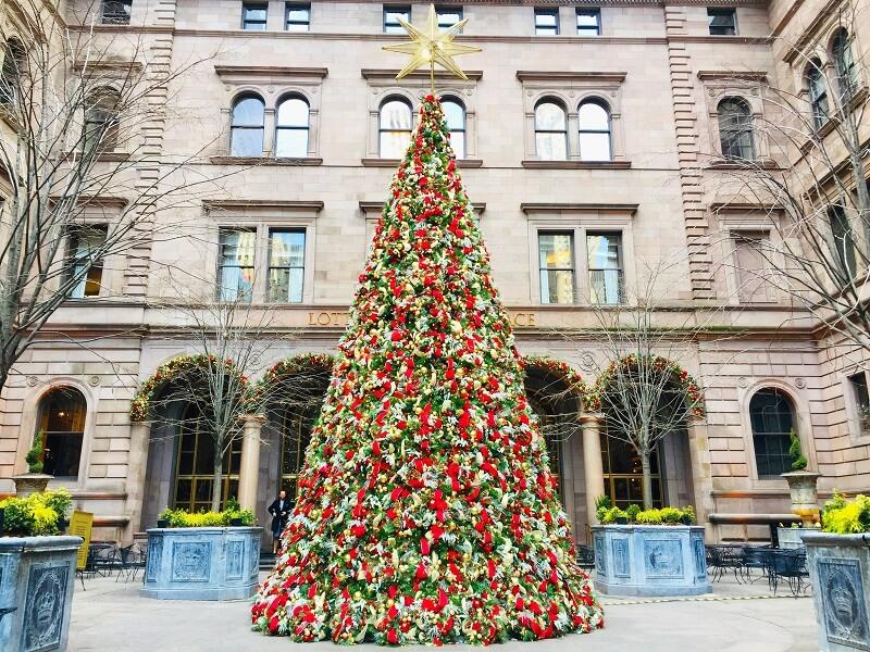 Árboles Navidad Nueva York