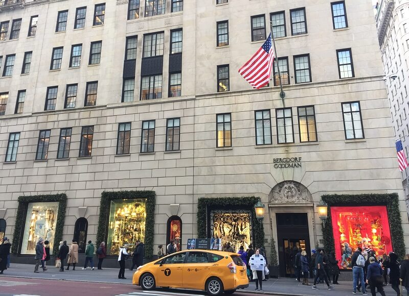 Escaparates de Navidad en NY