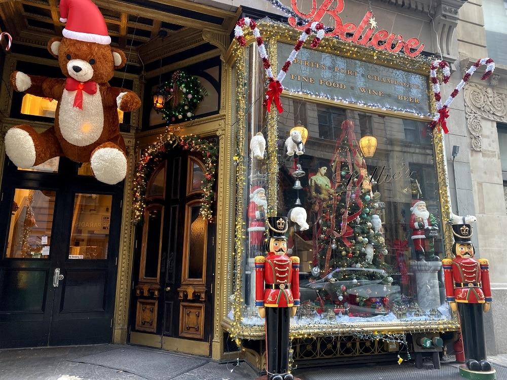 Restaurantes Navidad Nueva York