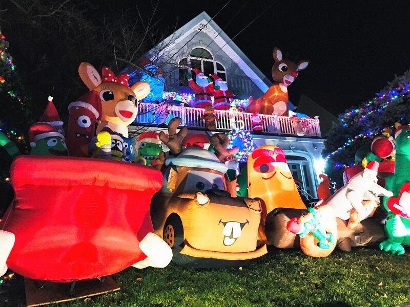 Luces de Navidad Dyker Heights