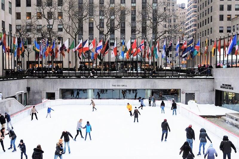 Pista de Patinaje del Rockefeller Center en NYC