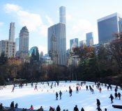 Pistas de Patinaje Sobre Hielo en Nueva York