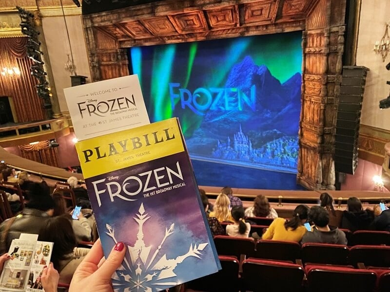 Musical Frozen Broadway