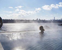 Ir a un Spa en New Jersey con vistas a Manhattan