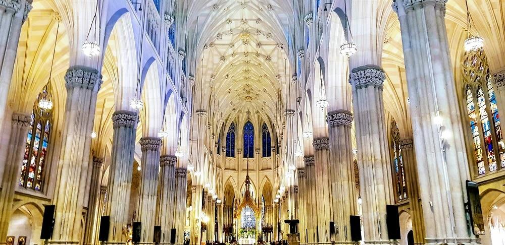 Interior Catedral de San Patricio