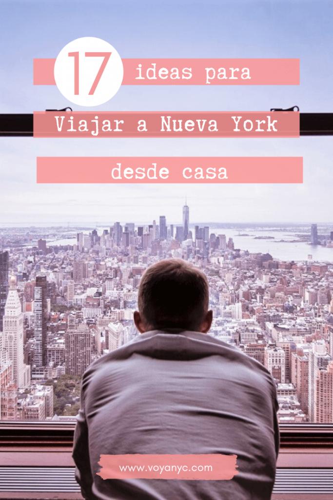 Viajar a Nueva York desde casa