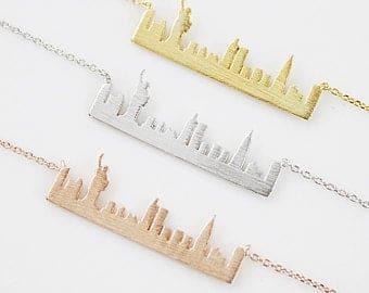 Gargantilla Skyline Nueva York