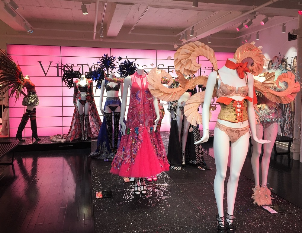 Victoria's Secret Exhibition en la Quinta Avenida de Nueva York