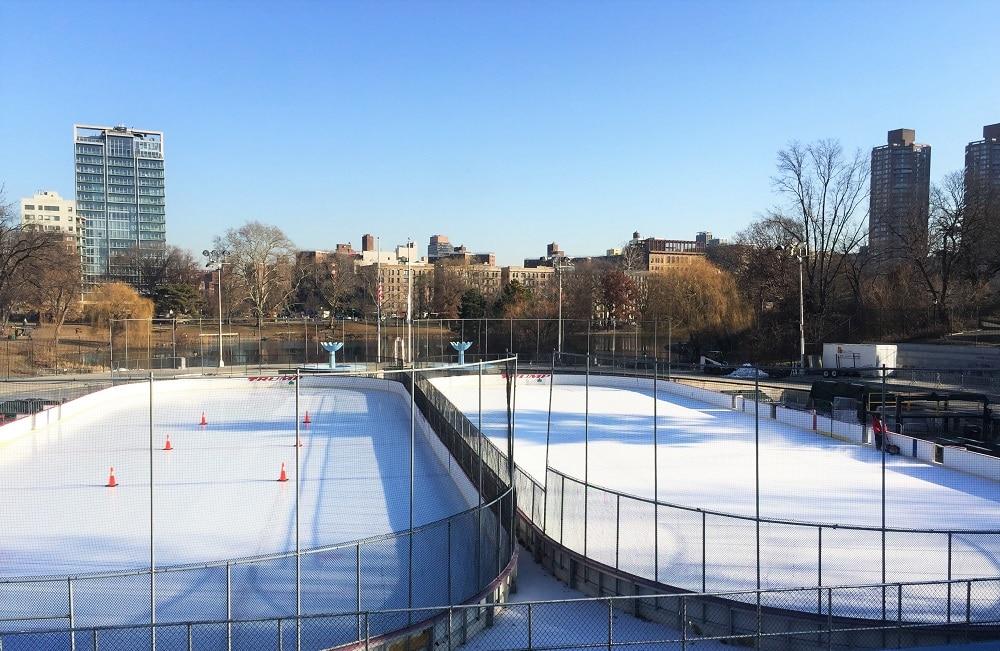 patinaje en Central Park