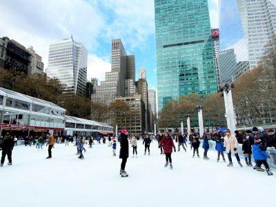 ¿Dónde patinar sobre hielo en Nueva York?