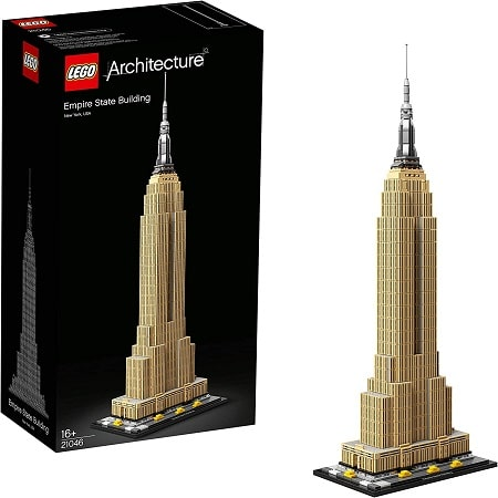 Lego Empire State Building Amazon