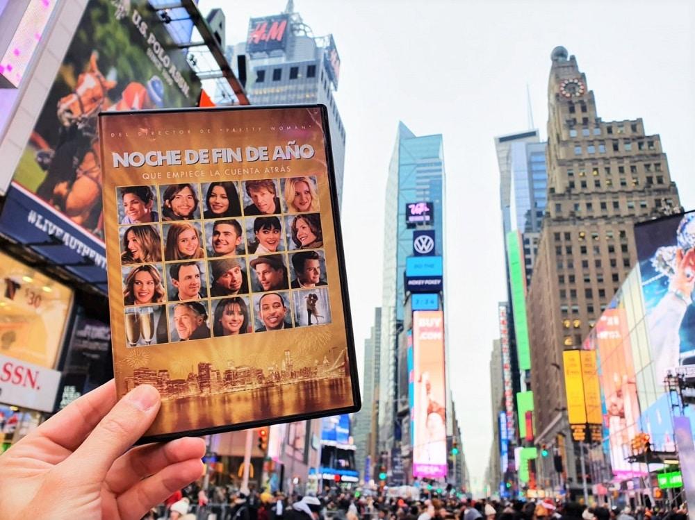Nueva York desde Casa en Navidad