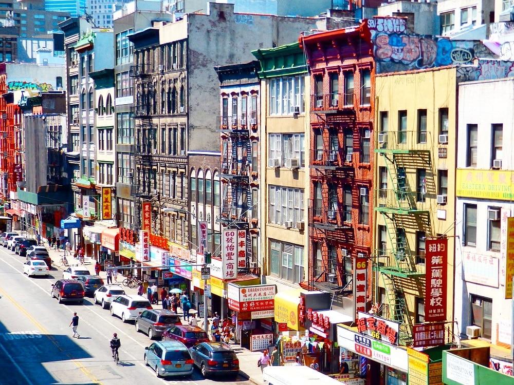 Chinatown en Manhattam