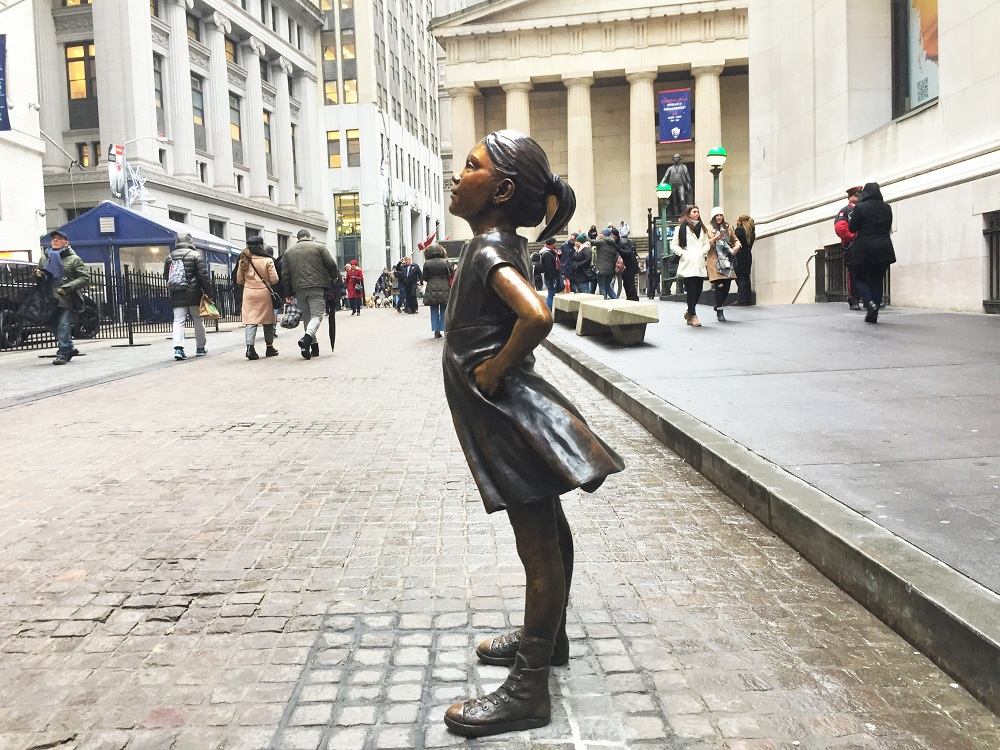 Fearless Girl Nueva York