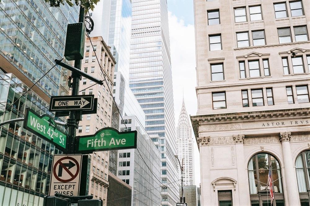 Orientarse en Nueva York