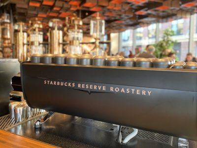 Starbucks Reserve Roastery en NY ¡más que buen café!