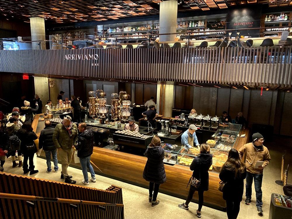 Starbucks Reserve New York