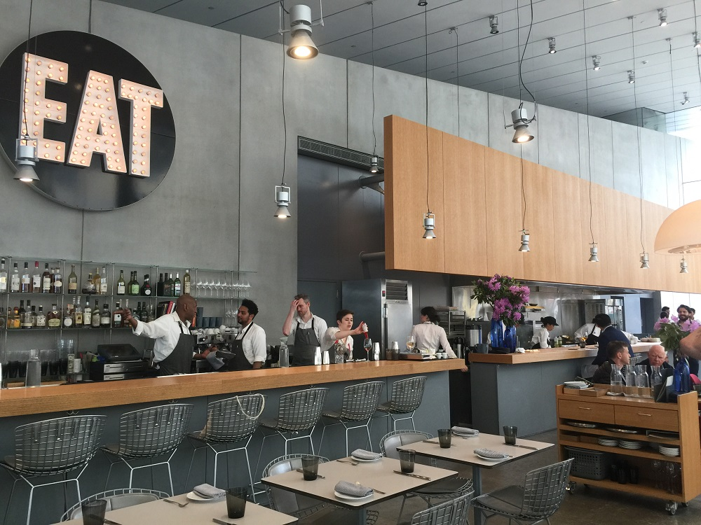 Restaurante Untitled en el Whitney Museum