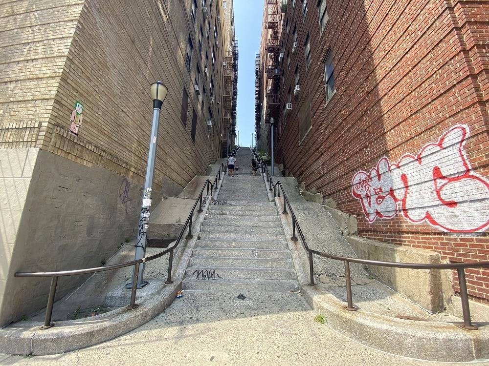 Escaleras Joker en el Bronc