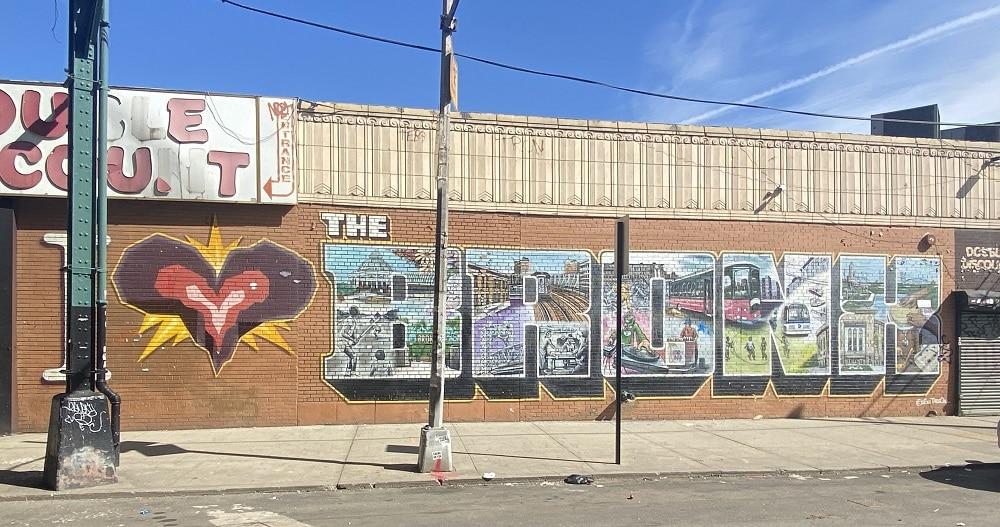 Mural I Love The Bronx